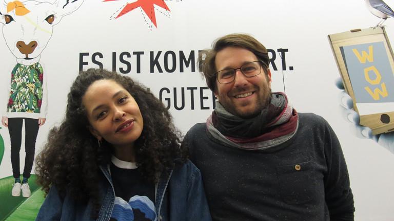 Joy Denalane und Sebastian Sonntag