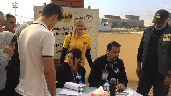 Lisa Hilleke arbeitet im Nordirak als Flüchtlingshelferin.