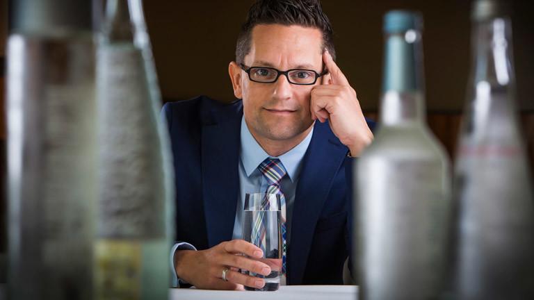 Wasser-Sommelier Martin Riese