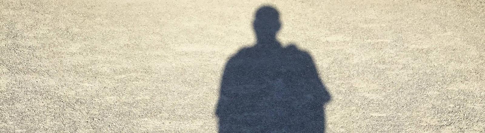 Der Schatten eines Mannes