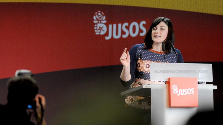 Juso-Chefin Johanna Uekermann