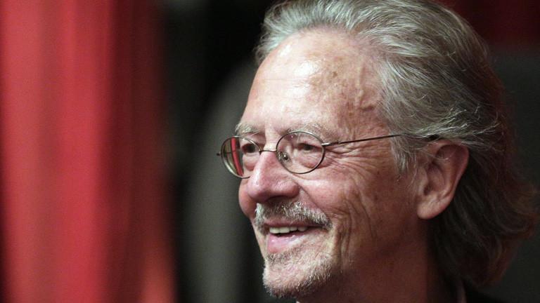 Der österreichische Schriftsteller Peter Handke 2014