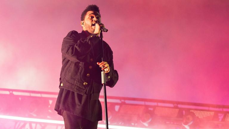 The Weeknd alias Abel Tesfaye am 28.10.2016