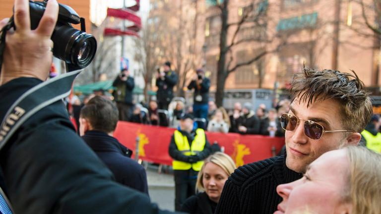 Robert Pattinson mit Fan