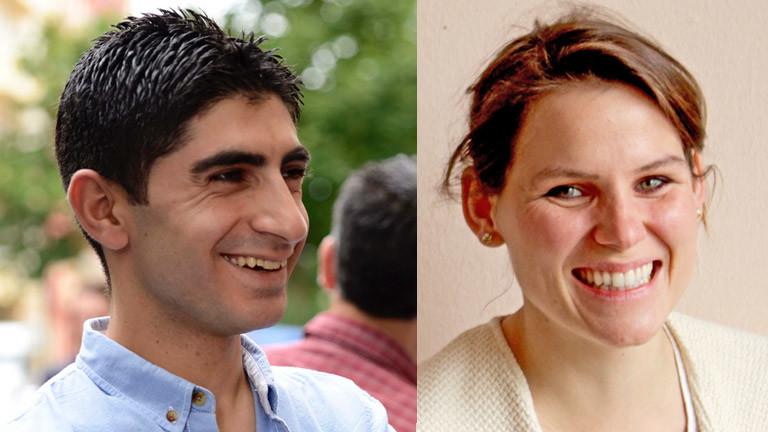 Fahed Khalili und Franziska Birnbach