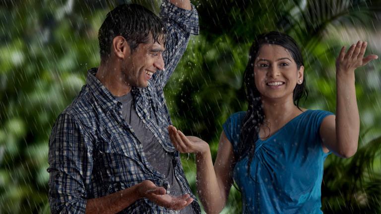 Ein indisches Paar