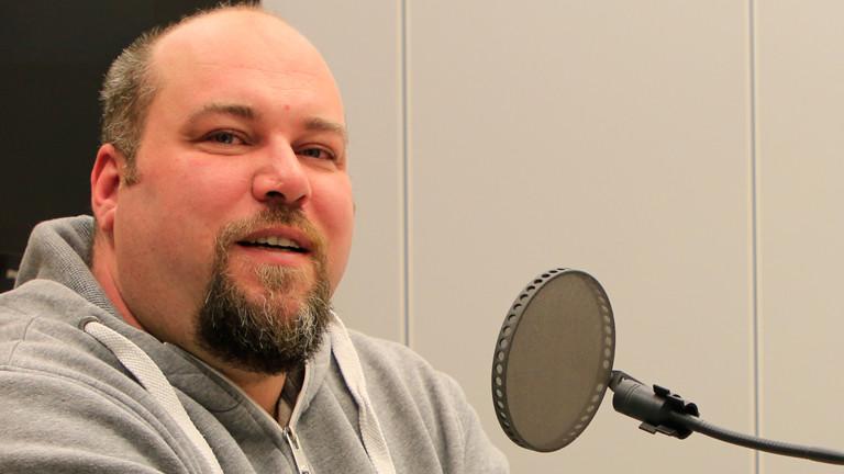 Stefan Bauer im Studio