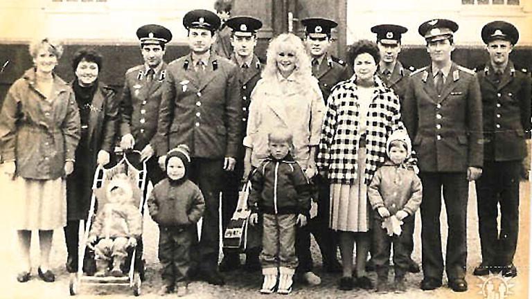 Alla nach ihrer Ankunft in Wünsdorf.