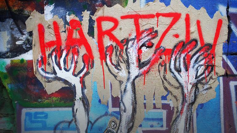 Hartz-IV-Grafitti