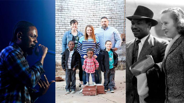 Kendrick Lamar, Familie Dooley und Seretse Khama mit seiner Frau Ruth