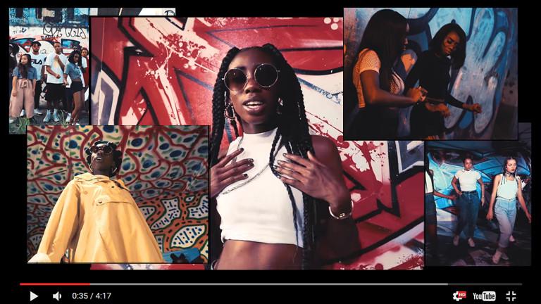 """Tarin Wilda ist Ace Tee. Ihr Video-Hit heißt """"Bist du down""""."""