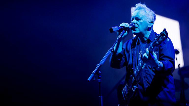 Bernard Sumner von der Band New Order