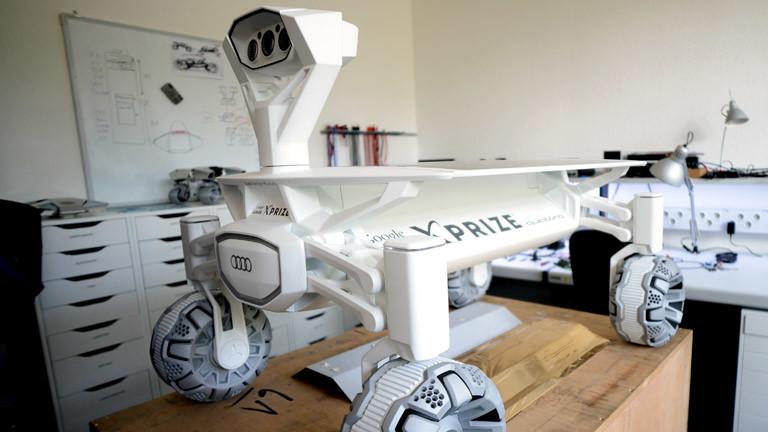 Rover des Entwicklerteams Part Time Scientists