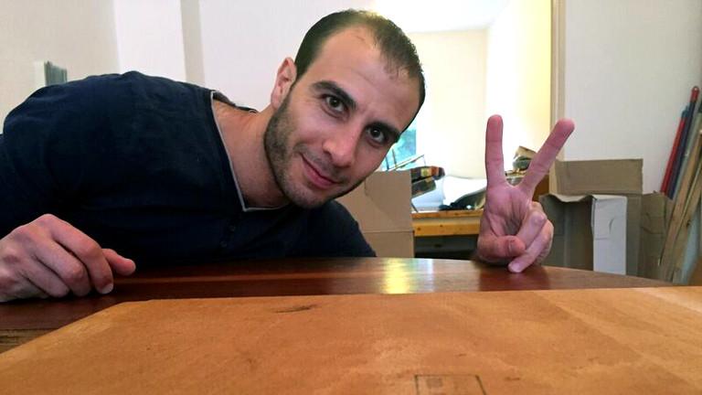 Omar, Flüchtling aus Syrien