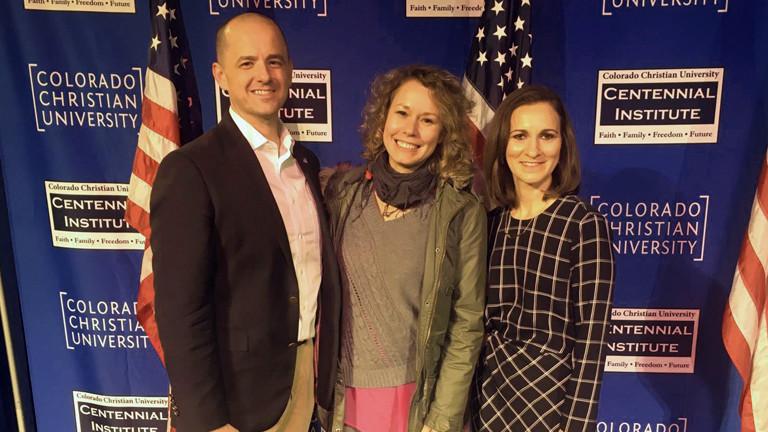 """Hanna Ender erreicht auf ihrem """"Vote Trip"""" Denver, Colorado"""