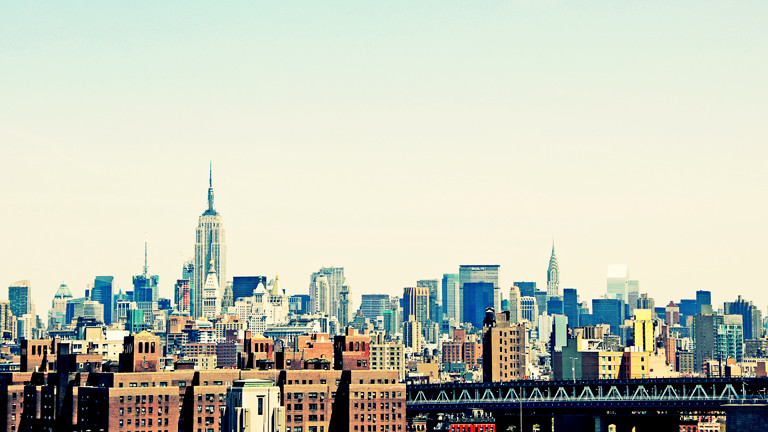 New Yorker Skyline.