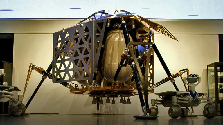 Raumschiff Alina des Entwicklerteams Part Time Scientists