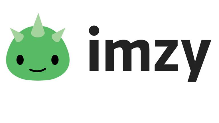 Logo und Schriftzug von Imzy