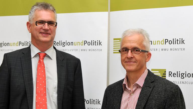Dirk Evers, Theologe, und Robert-Benjamin Illing, Neurobiologe