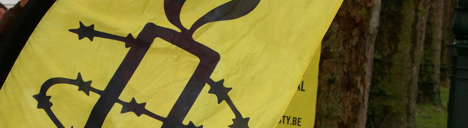 Logo der Menschenrechtsorganisation Amnesty International