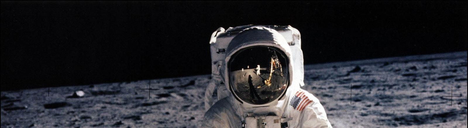 Der zweite Mann auf dem Mond, Buzz Aldrin.