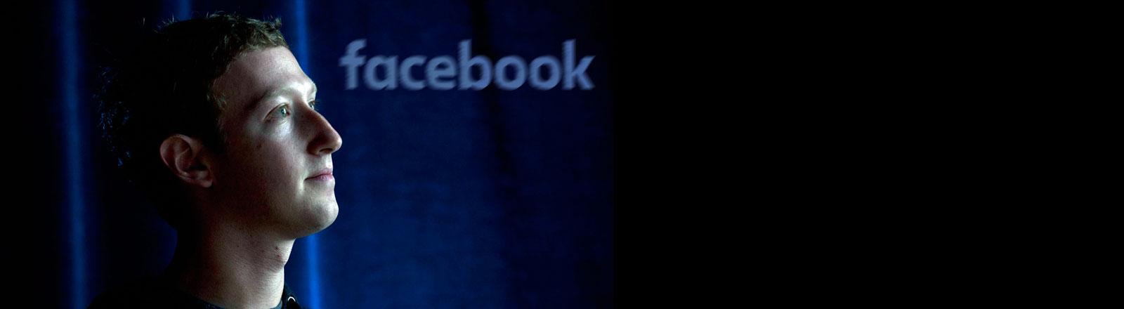 Facebook-Chef Mark Zuckerberg, aufgenommen im Hauptsitz des Unternehmens im kalifornischen Menlo Park im Jahr 2013