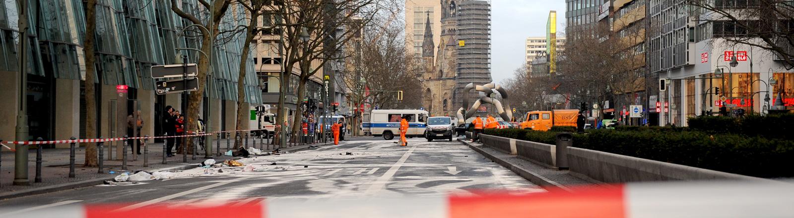 Unfallort Berliner Ku' Damm