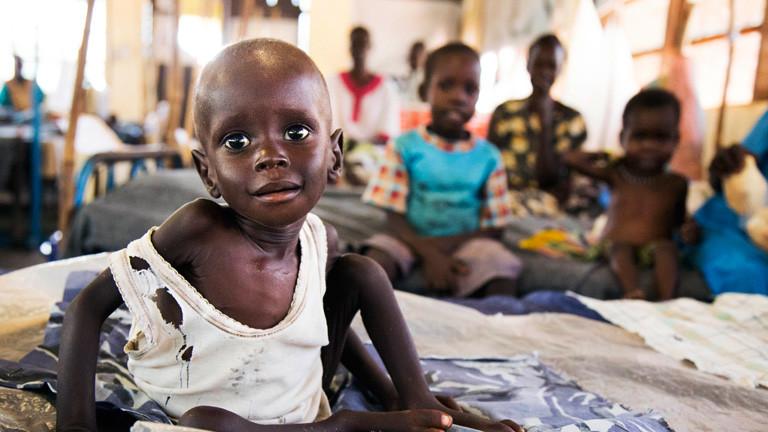 Kind aus dem Südsudan