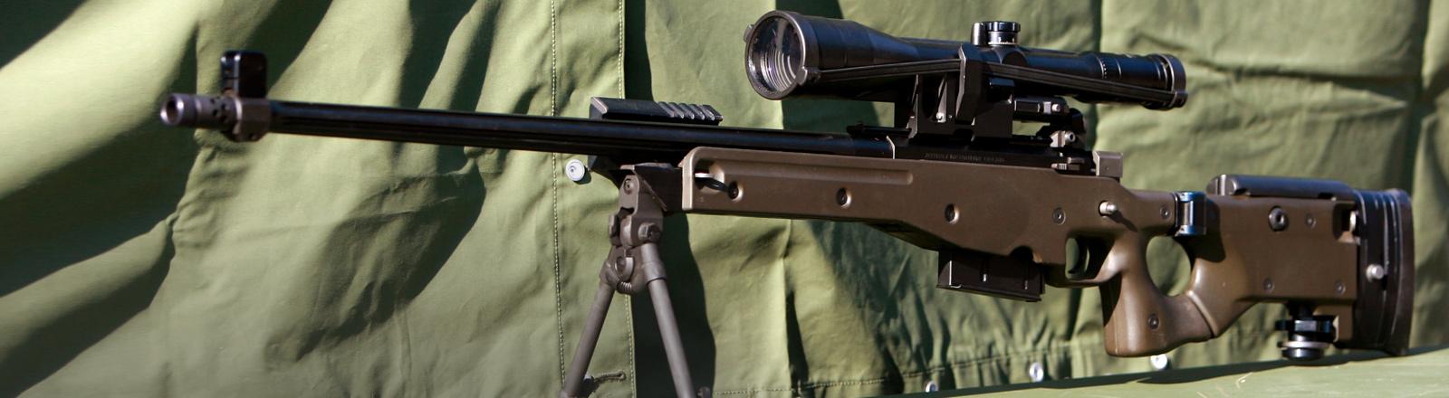 Ein Scharfschützengewehr