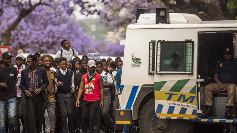 Studentenproteste Südafrika