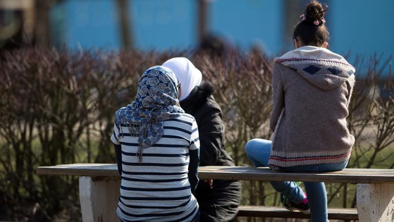 Junge Flüchtlinge in Deutschland