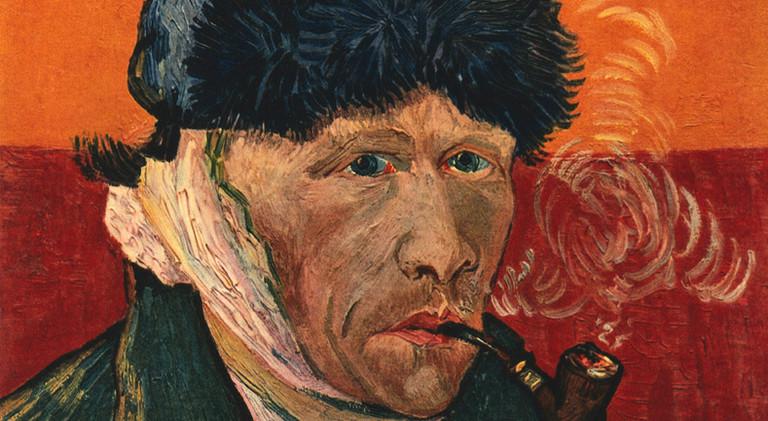 Selbstbildnis mit Pfeife, Vincent van Gogh