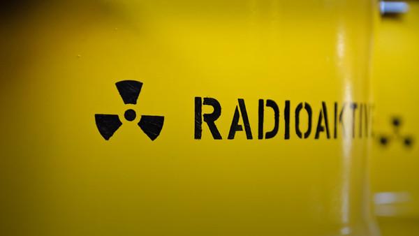 """Schriftzug """"Radioaktivität"""""""