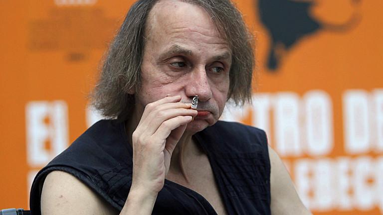 Der Schriftsteller Michel Houellebecq
