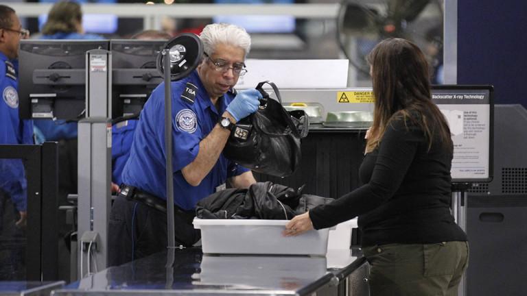 Einreisekontrolle am Flughafen Chicago