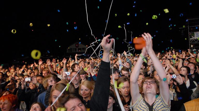 Publikum auf dem Haldern Pop