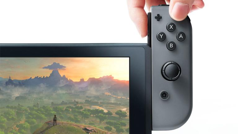 Ausschnitt Produktfoto Nintendo Switch